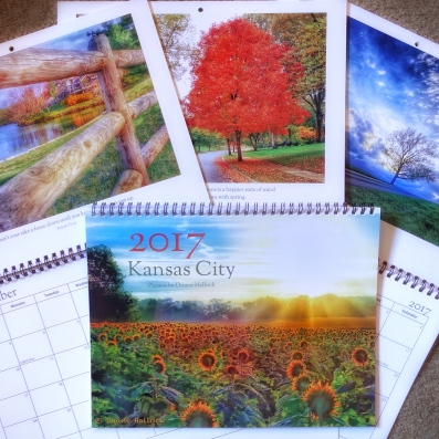 The colorful calendars will brighten your kitchen, hallway or work place.